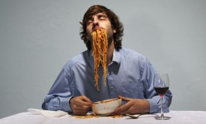 Man-eating-spaghetti-001